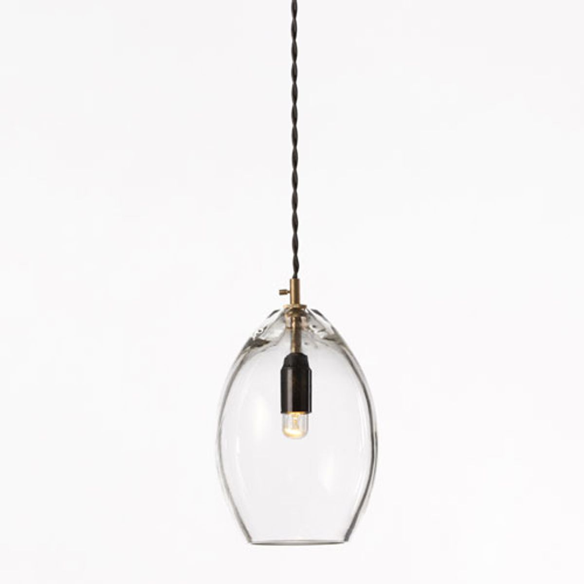 Suspension en verre et laiton Unika Northern Lighting  - GM