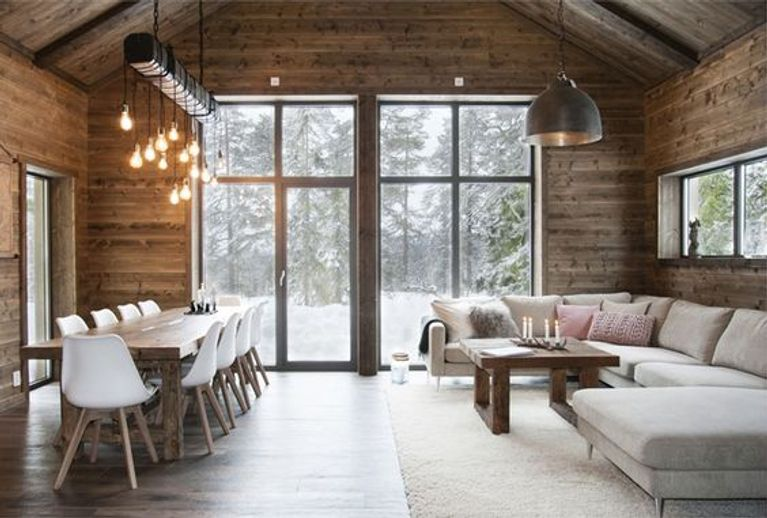Decoration chalet for Decoration maison montagne