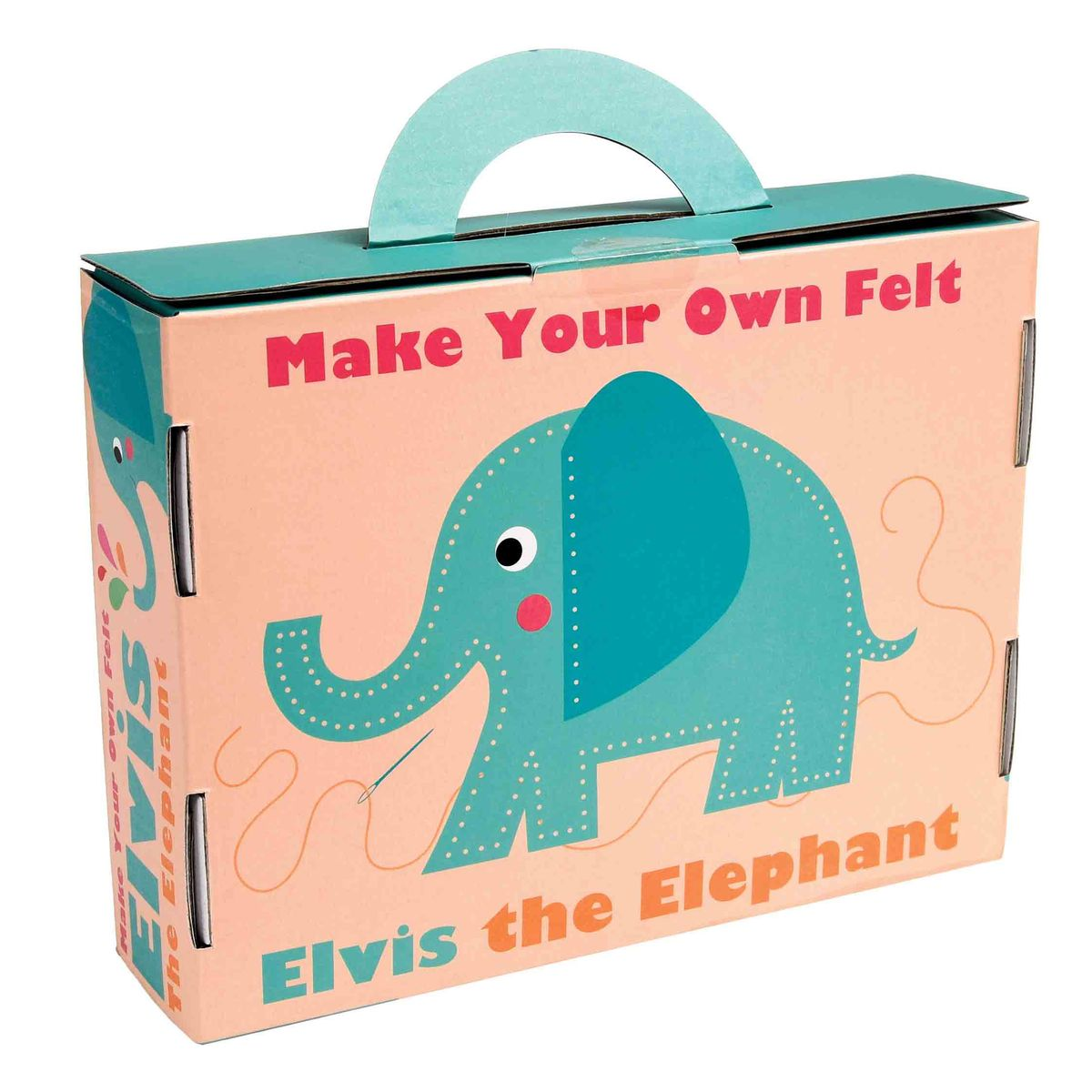 Kit de feutrine à coudre Elvis the Elephant Rex