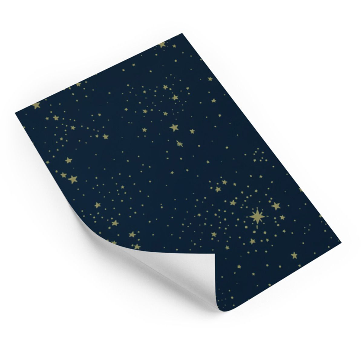 Papier peint Gold Stella Night Blue Nobodinoz