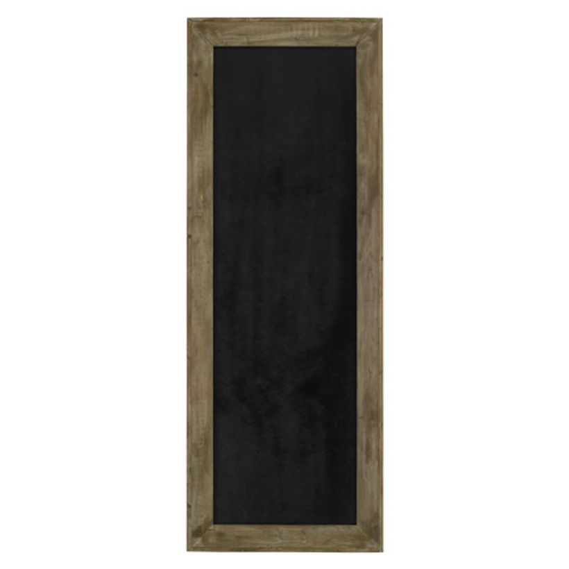 tableau rectangulaire en bois peint ardoise athezza. Black Bedroom Furniture Sets. Home Design Ideas