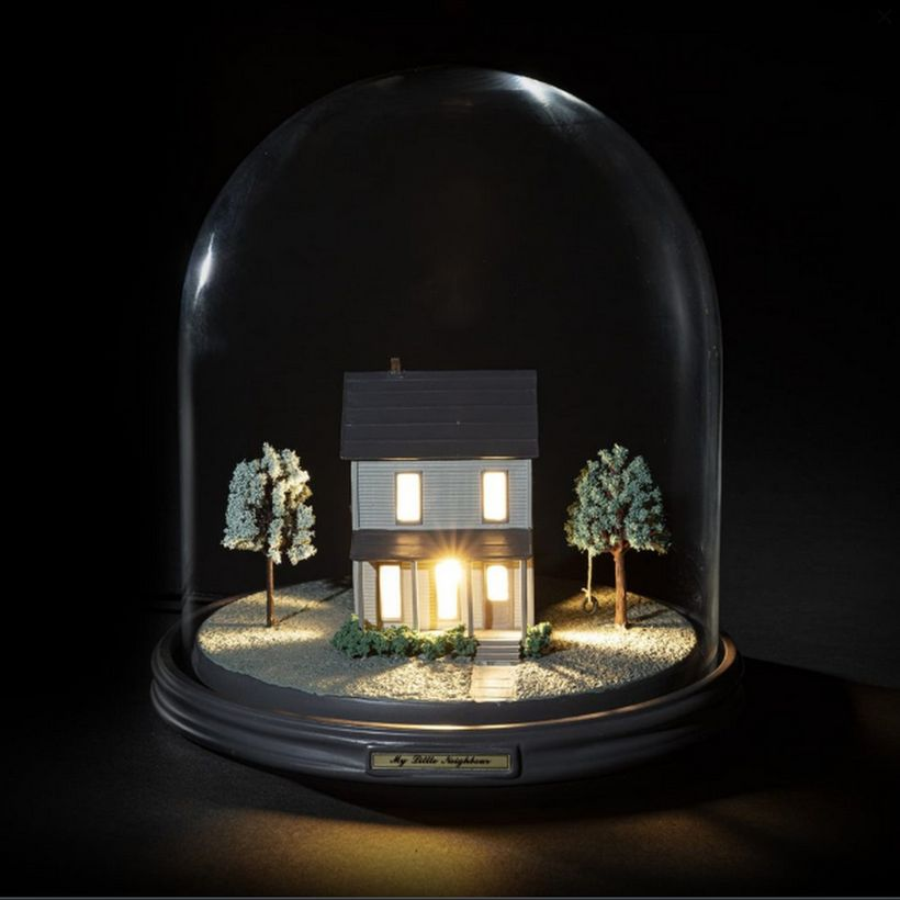 Lampe cloche en verre My Little Neighbour Seletti