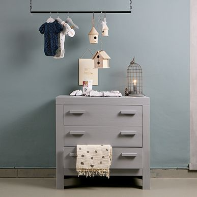 Commode Enfant En Pin Massif FSC New Life