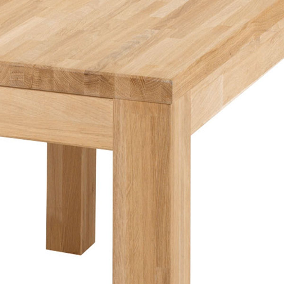 Table rectangulaire L 200 en chêne massif naturel Largo -GM