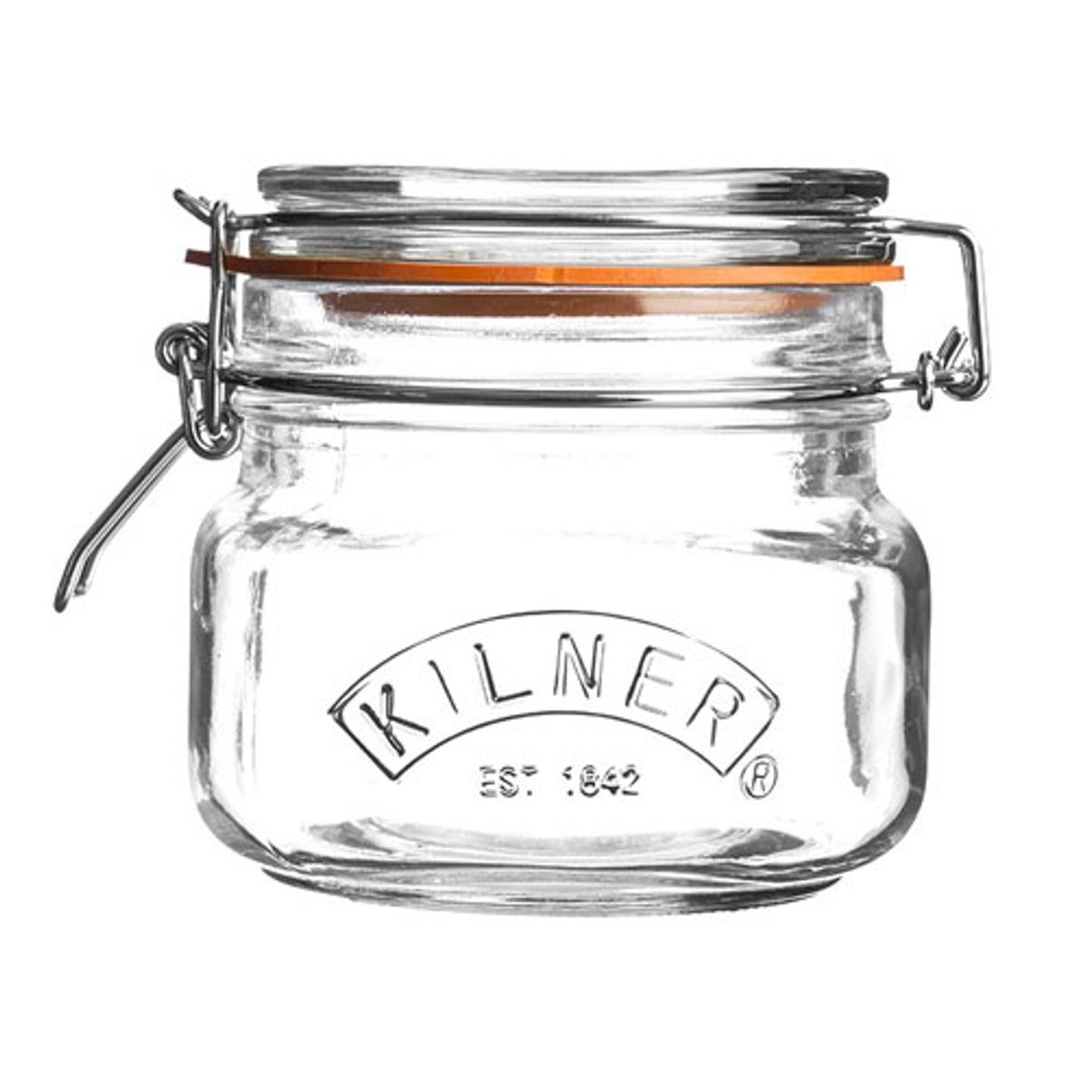 Pot de conservation en verre transparent 0,5 L Kilner