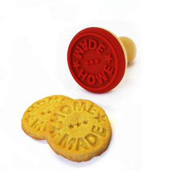 Tampon pour biscuit HOME MADE en bois et silicone