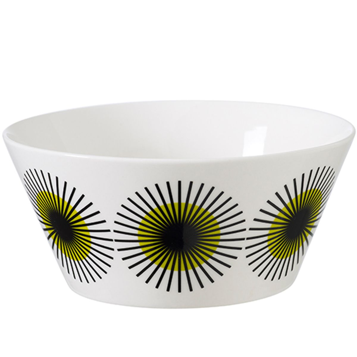 Bol en porcelaine LuluBowl Superliving - jaune citron