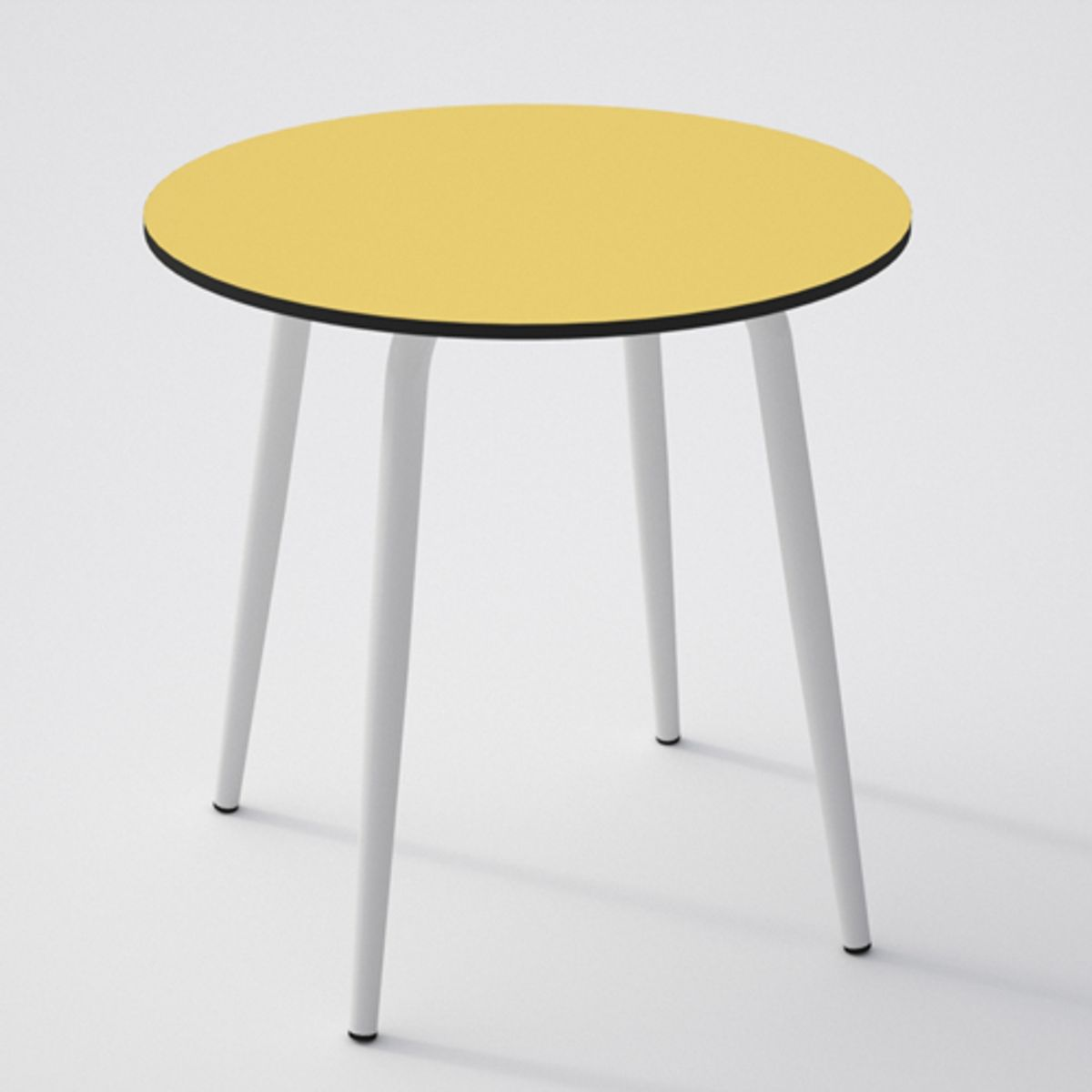 Table de cuisine ronde en formica d70 l on les gambettes for Table de cuisine formica