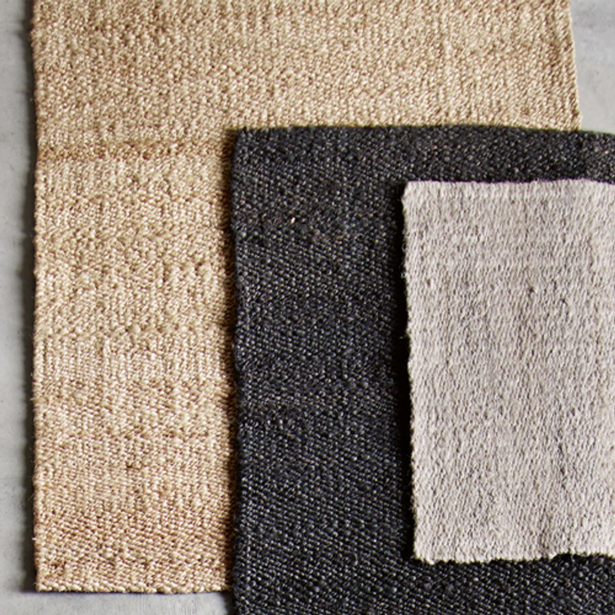 tapis en jute naturel 140x200 cm tine k home decoclico. Black Bedroom Furniture Sets. Home Design Ideas
